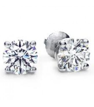 1 CTW Diamond Stud Earrings - Best Value