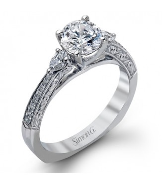 Simon G MR2401 Engagement Ring