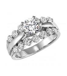 1 CTW Diamond Engagement Setting