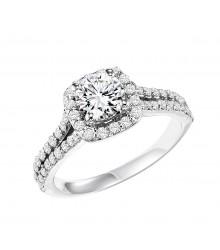 1 1/2 CTW Diamond Engagement Ring