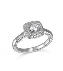 .63 ctw Engagement Ring