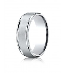 7mm Satin Center Band