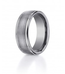 Tungsten  8mm Wedding Band