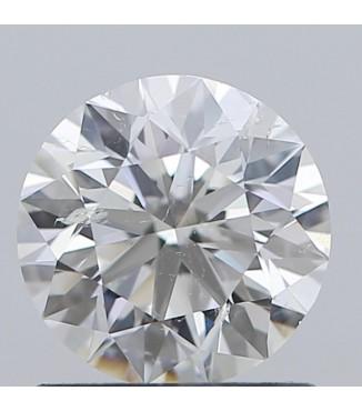 1.01 carat Round Diamond GIA G SI2