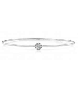 Uneek Durant 14KW Diamond Bangle