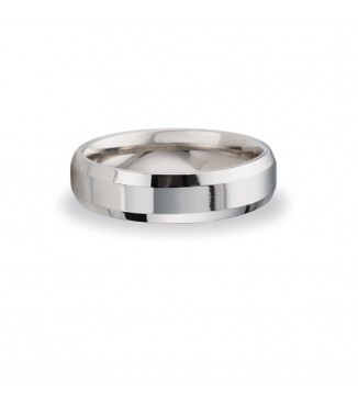 6mm 14KW BENCHMARK Comfort Fit Wedding Band