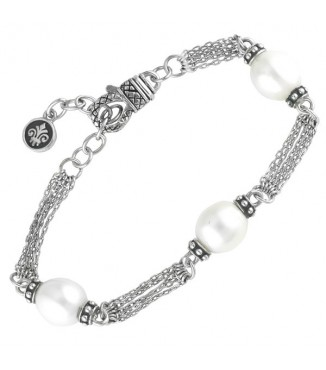 Andrea Candela 3 Pearl Bracelet
