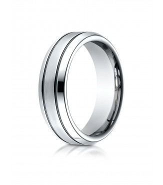 Cobalt 7mm Wedding Band