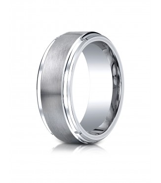 Cobalt 9mm Wedding Band