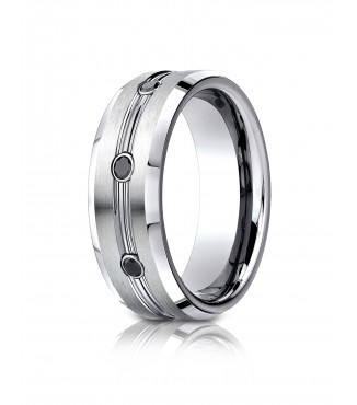 Cobalt 7.5mm Wedding Band