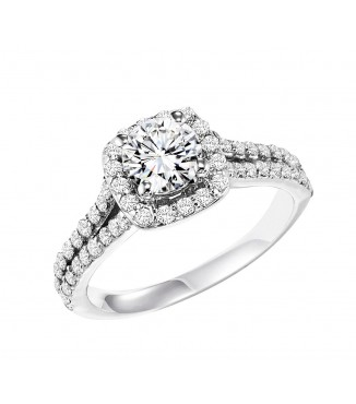 .73 CTW Diamond Engagement Setting