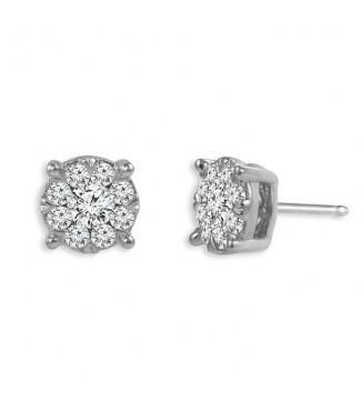 1/2 CTW Diamond Fashion Earrings