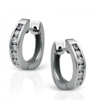 Simon G Channel Set Diamond Loops