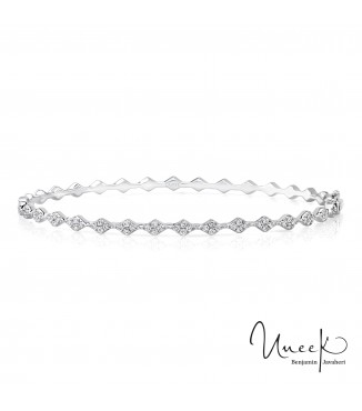 Uneek Mulholland Stackable Diamond Band