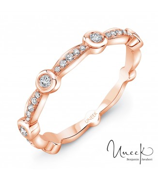 Uneek Santa Monica 14K Rose Band