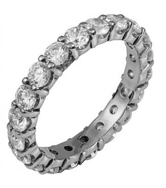 2 ctw Eternity Diamond Band