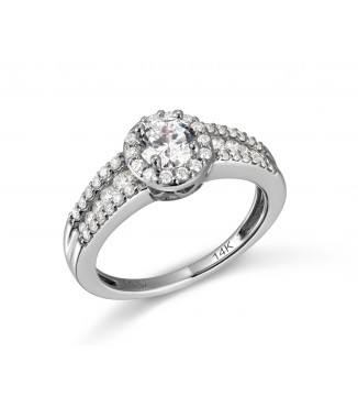 1 CTW Engagement Ring PR93-50-P3Q