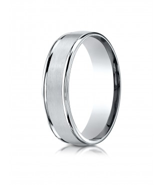 6mm Satin Center Band