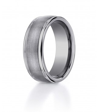 Tungsten 8mm BENCHMARK Comfort Fit Band