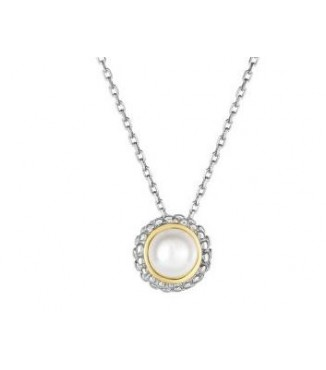Sterling 18KY Pearl Pendant