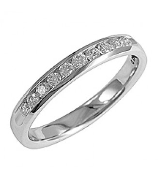 1/4 ct 14KW Diamond Band