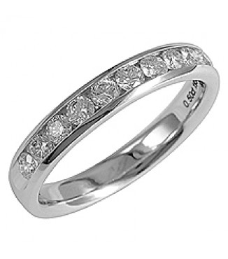 1/2 ct 14KW Diamond Band
