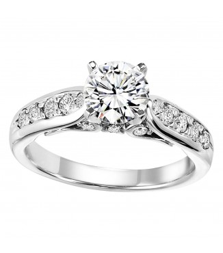 3/8 ctw Diamond Engagement Setting