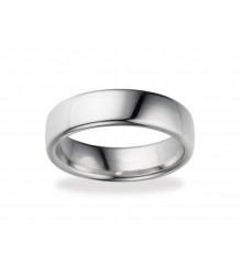 6.5mm EURO Comfort Fit Wedding Band