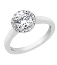 14K Yellow Gold Engagement Ring Mounting