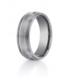 Tungsten BENCHMARK 7mm Comfort Fit Wedding Band