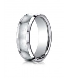 7.5mm Concave Satin Band