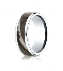 Cobalt 8mm Wedding Band