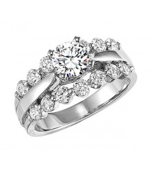 1 CTW Diamond Engagement Setting
