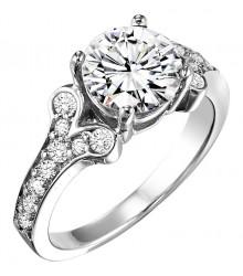 1 1/3 ctw Diamond Engagement Setting