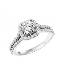 3/4 CTW Diamond Engagement Setting
