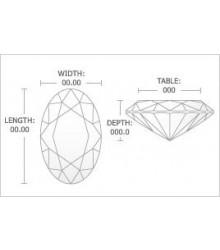 1 - Carat Oval Cut Diamond
