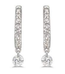 Dashing Diamond Earrings 1/3 cttw
