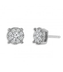 1/2 CTW Diamond Fashion Earrings