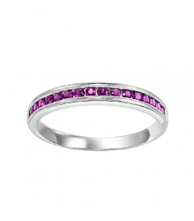 Ruby Stackable Ring FR1034