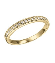 14KY Stackable Diamond Ring
