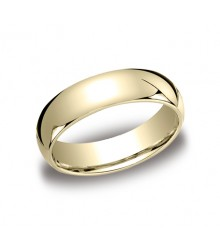 6mm 14KY BENCHMARK Comfort Fit Wedding Band