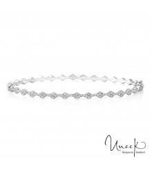 Uneek Mulholland Stackable Diamond Bangle