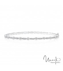 Uneek Santa Monica Diamond Bangle