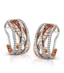 Simon G Diamond Earrings ME1753