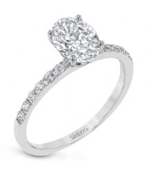Simon G Oval Engagement Setting MR1686-OV