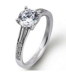 Simon G Baguette Engagement Setting MR2220