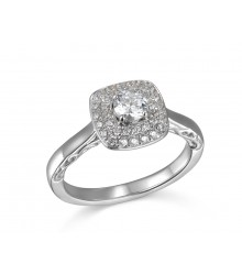 .63 ctw Engagement Ring
