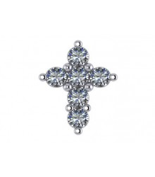 1/10 carat Diamond Cross