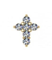 1/10 carat Diamond Cross