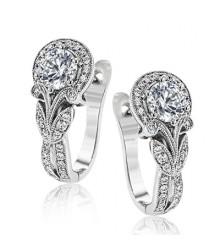 Simon G Diamond Earrings TE629